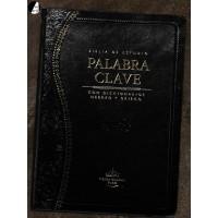 Biblia de estudio Palabra clave - Piel especial negro