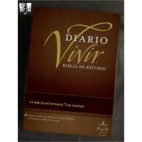 Biblia de estudio Diario Vivir - Tapa dura